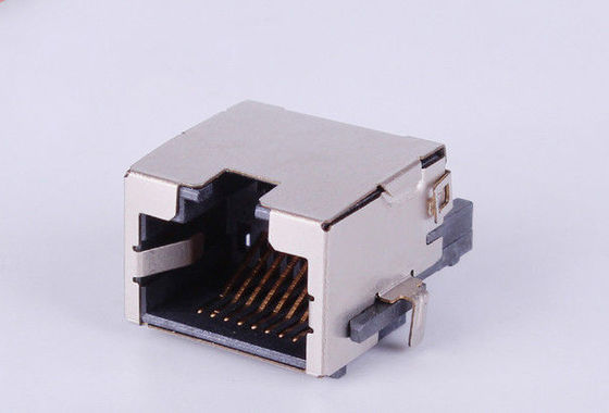 China POE Rj45 Ethernet Connector , Shielded Rj45 Jack With Integrated Transformer supplier