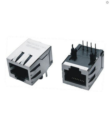 21.3mm 1X1 Single Port RJ45 Modular Jack Shielded Without Transformer